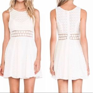 Free People Daisy Fit and Flare Dress Size 6